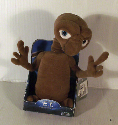 "8"" Bendy Posable Et The Extra Terrestrial Soft Toy - Boxed"
