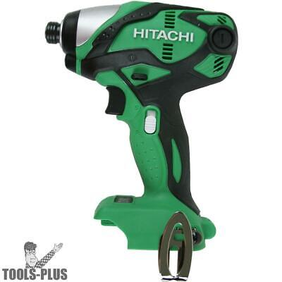 "Hitachi WH18DSDLP4 18V Cordless Lithium-Ion 1/4"" Impact Driver (Tool Only) New"
