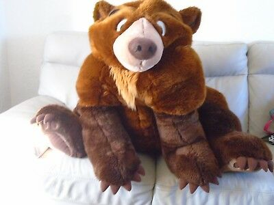Very Large Brother Bear Kenai Plush Soft Toy - Local collection only
