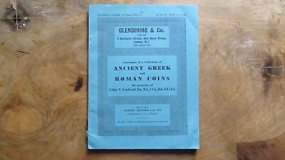 Glendining & Co. Ancient Greek and Roman Coins London 1962 14 sehr gute Tafeln