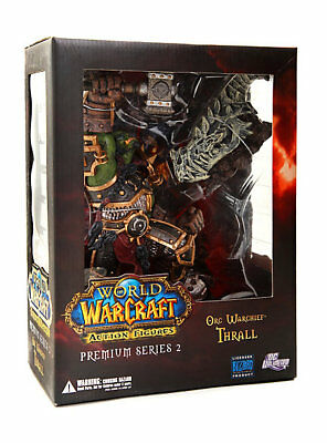 World of Warcraft  Series 2 Orc Warchief Thrall 10in Action Figure DC Unlimited