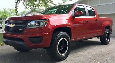 2015 Chevrolet Colorado Z71 Crew Cab Z71 3.6L RWD Tow Package IMMACULATE CONDITION! UNDER FACTORY WARRANTY!