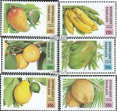 Togo 2420-2425 (complete.issue.) unmounted mint / never hinged 1996 Fruits