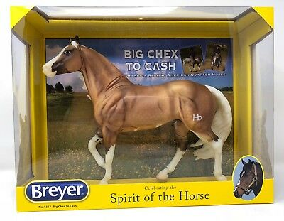 Breyer 1357 BIG CHEX TO CASH Smart Chic Olena 2008-17 Chestnut Pinto GORGEOUS!