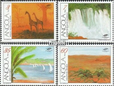 angola 850-853 unmounted mint / never hinged 1991 Tourism