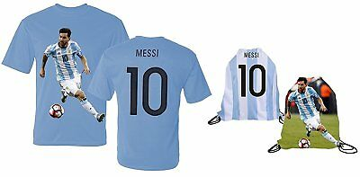 on sale cd189 3f685 LIONEL MESSI JERSEY Youth L Soccer Shirt White Blue Striped ...