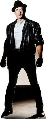 """2 QTY -ROCKY V -Syl Stallone Life Size 69""""Tall CARDBOARD CUTOUT Standup Standee"""