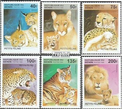Animal Kingdom Stamps Benin 668-673 Mint Never Hinged Mnh 1995 Cats