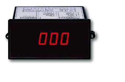 Lutron DT2240D Digital Panel Tachometer Input 5-100K RPM
