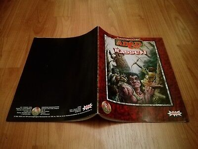 Rassen Band Ad&d Tsr  Advanced Dungeons & Dragons Ad&d Sehr Gut