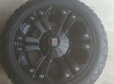 XD KMC Monster 20 inch with Nitto Terra Grappler tyres near new
