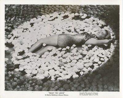 ESTHER WILLIAMS Swimsuit Original Vintage 1953 EASY TO LOVE MGM Cheesecake Photo