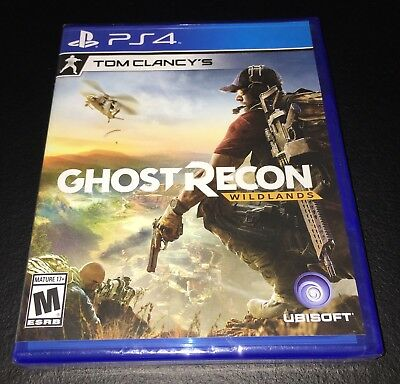 TOM CLANCY's Ghost Recon WILDLANDS Playstation 4 PS4 Brand New! Sealed! Fast Shp