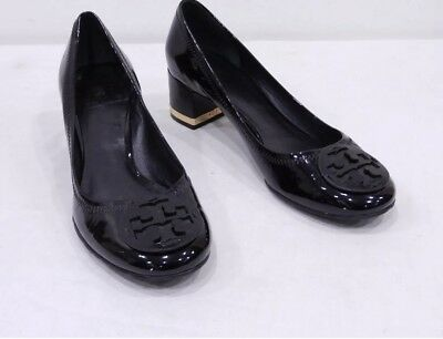 adddf17eb Tory Burch Amy Shoes Heels Pumps All Black Patent Leather ~ Stunning & Exc  Cond!