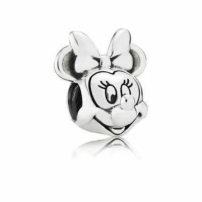 New Authentic Pandora Silver S925 ALE Disney, Minnie Portrait Charm #791587