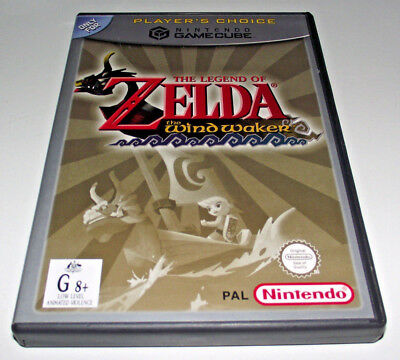 The Legend of Zelda The Wind Waker Nintendo Gamecube PAL *Complete* Player's C