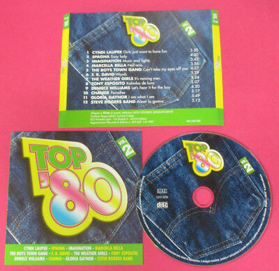 CD TOP 80 VOL 2 compilation PROMO CYNDI LAUPER SPAGNA IMAGINATION (C15) no mc lp