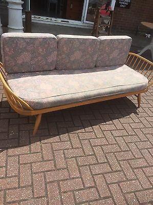 1970s Ercol Daybed CUSHIONS ONLY,studio Couch mattress,Furniture Showroom Kent,