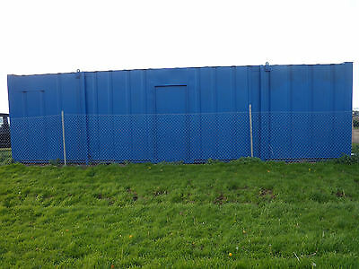 33ft x 10ft Shipping Container Office/Canteen/Storage with electricity, fuse box