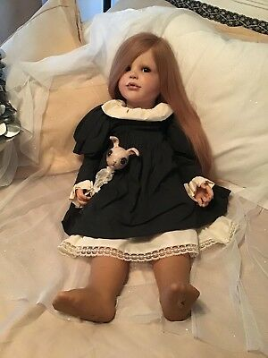 Lacey Michelle Hayes USA DARK & TWISTY Reborn Doll VAMPIRE TODDLER Victoria Goth