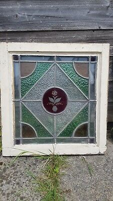 Victorian stained glass window - double glazed£200 each or £1100 for all 6