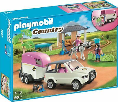 reiterhof playmobil spielzeug picclick de. Black Bedroom Furniture Sets. Home Design Ideas