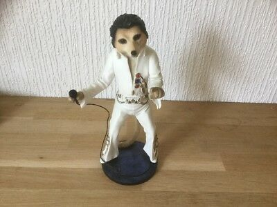 Magnificent Meerkats Elvy Country Artists Elvis Presley Figure