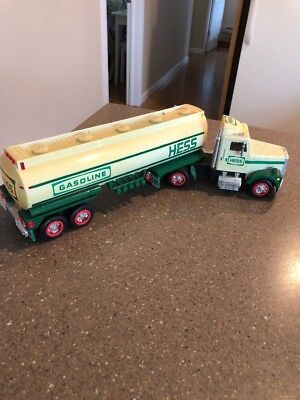 Used 1990 Hess Gas Gasoline Tanker Truck no box but lights work see photo's