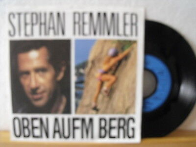 "7"" Single - STEPHAN REMMLER - Oben aufm Berg - Mercury 1988 - Vinyl Near Mint!"