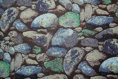Fat Quarter Designer Fabric from Blank Quilting PEBBLES Quilting 100%Cotton