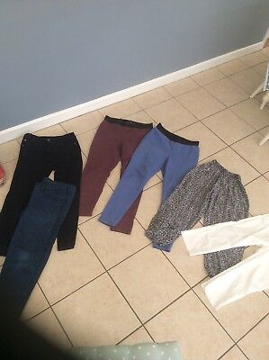 Ladies M And S Jeggings , And Other Trouser Bundle Size 12