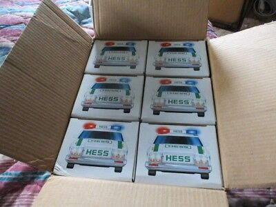 Hess 1993 Police Cars, Case of 6, all new MIB