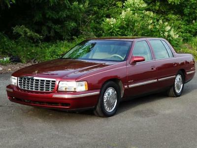 1998 Cadillac DeVille d'Elegance 2ND-OWNER! CLEAN AUTOCHECK! 56K Mls! LEATHER HEATED/MEMO SEATS COLD AC DUAL CLIMATE KEYLESS ENTRY CASSETTE/CD-PLAYER