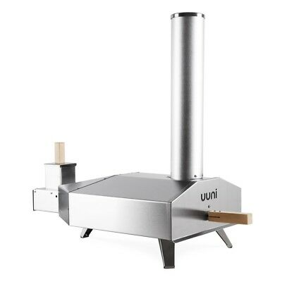 Uuni 3 Wood Pellet Pizza Oven Stainless Steel (free shipping)