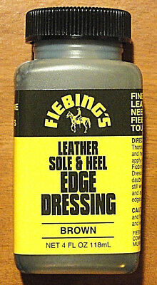 Fiebing's Leather Sole & Heel Edge Dressing - BROWN 4oz