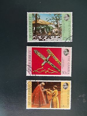 Gambia 1977  SG 365-367   Set F/Used