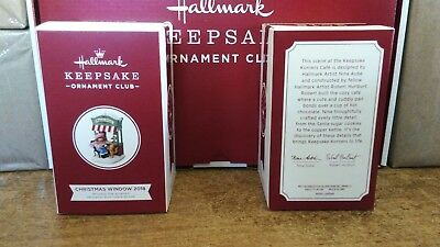 Hallmark 2018 Christmas Windows 16Th In Series Koc Member Exclusive