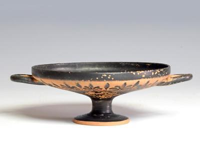 Greek decorated Kylix circa 475 BC.