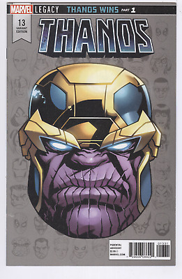 Thanos Comic #13 (2018) VF/NM 1st Cosmic Ghost Rider Variant 1:10 Headshot