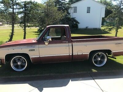 1984 Chevrolet Other Pickups CLASSIC 1984 gmc square body 2wd shortbed pickup