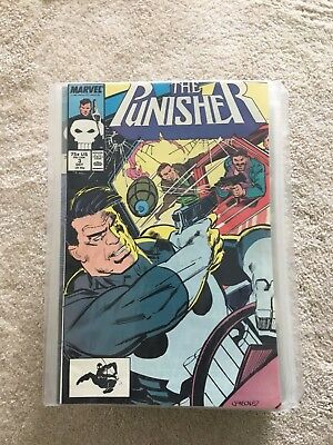 THE PUNISHER  #3-63 UNBROKEN RUN WITH #10, 48, 51, MISSING - All VF/NM 1ST PRINT