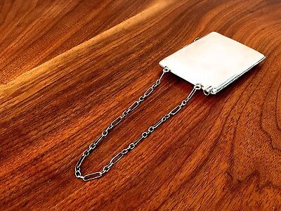 American Sterling Silver Change and Bill Purse with Notebook and Pencil