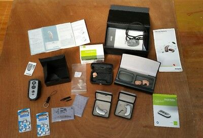 Hearing Aids With  Instruction Manual