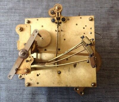 Antique HAC Clock Movement Five Chime Westminster Untested Repair Or Parts