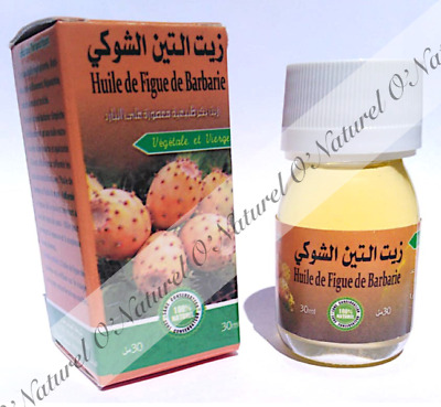 Huile de Figue de Barbarie BIO 100% Pure & Naturelle 30ml Prickly Pear Oil