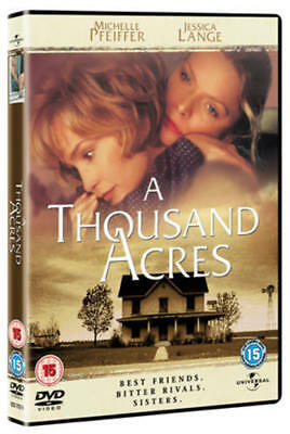 A Thousand Acres [DVD] NEW Michelle Pfeiffer Colin Firth Jessica Lange 5* Movie