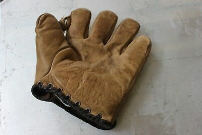 Antique Baseball Glove - Curtis Candies Baby Ruth Butterfield  - NICE