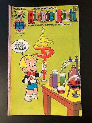 Richie Rich Comic Book (1st Series) #152 1977 classic and rare.