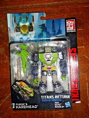 Furos & Hardhead New Titans Return Generations Transformers New Sealed