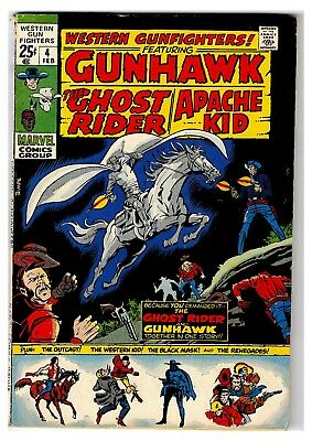 Western Gunfighters #4 GHOST RIDER VG/F NO RESERVE BRONZE AGE